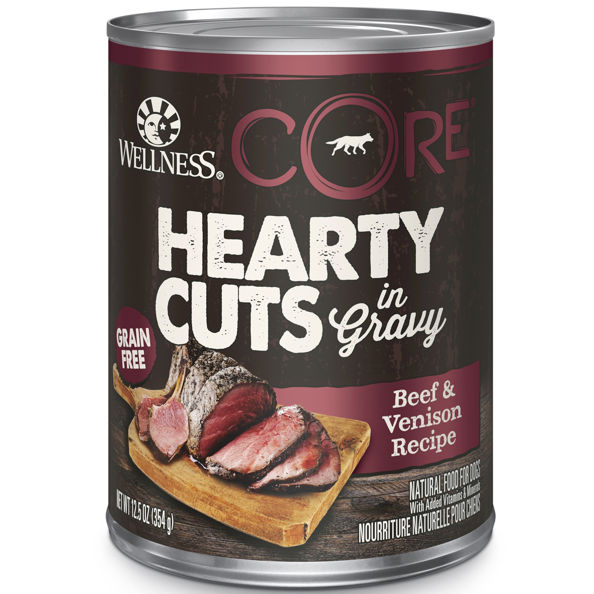 Wellness Core Natural Grain Free Hearty Cuts Beef