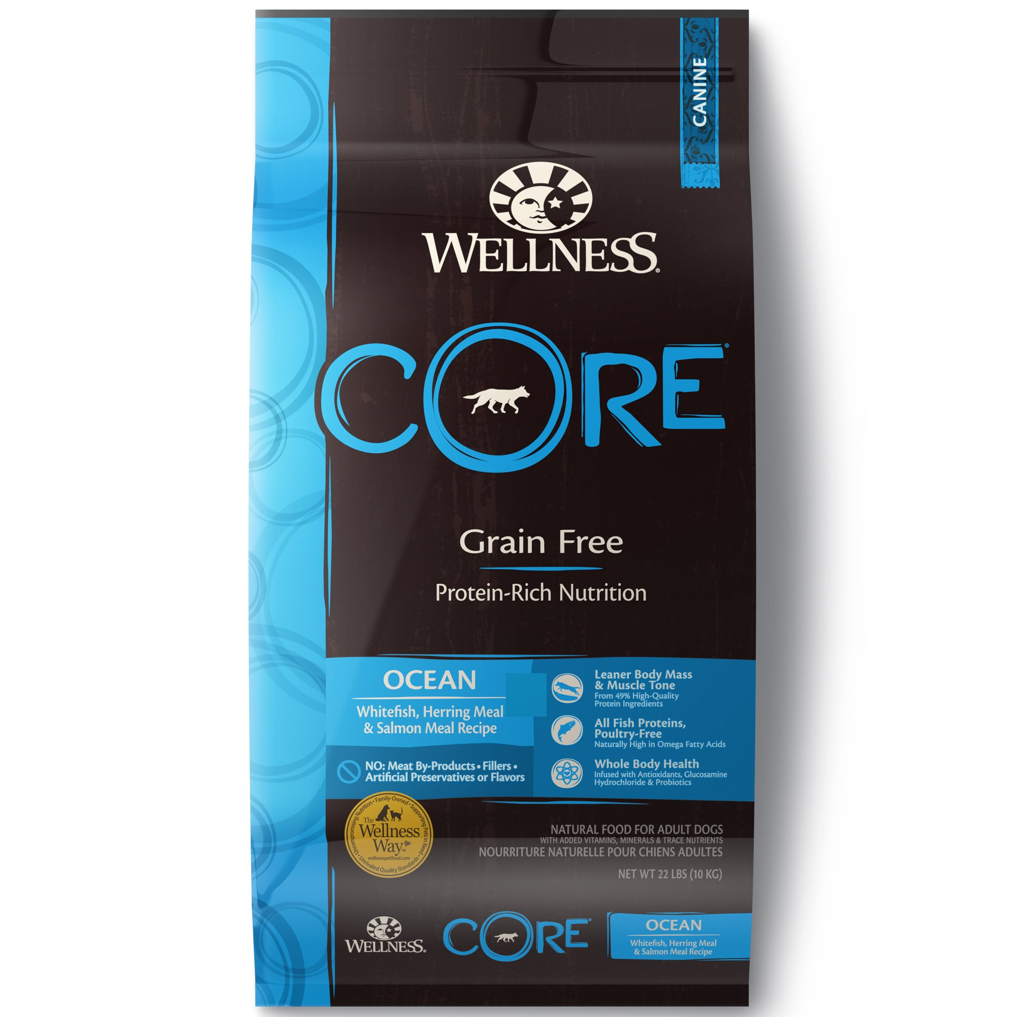Wellness Core Natural Grain Free Ocean Recipe Dry Dog Food