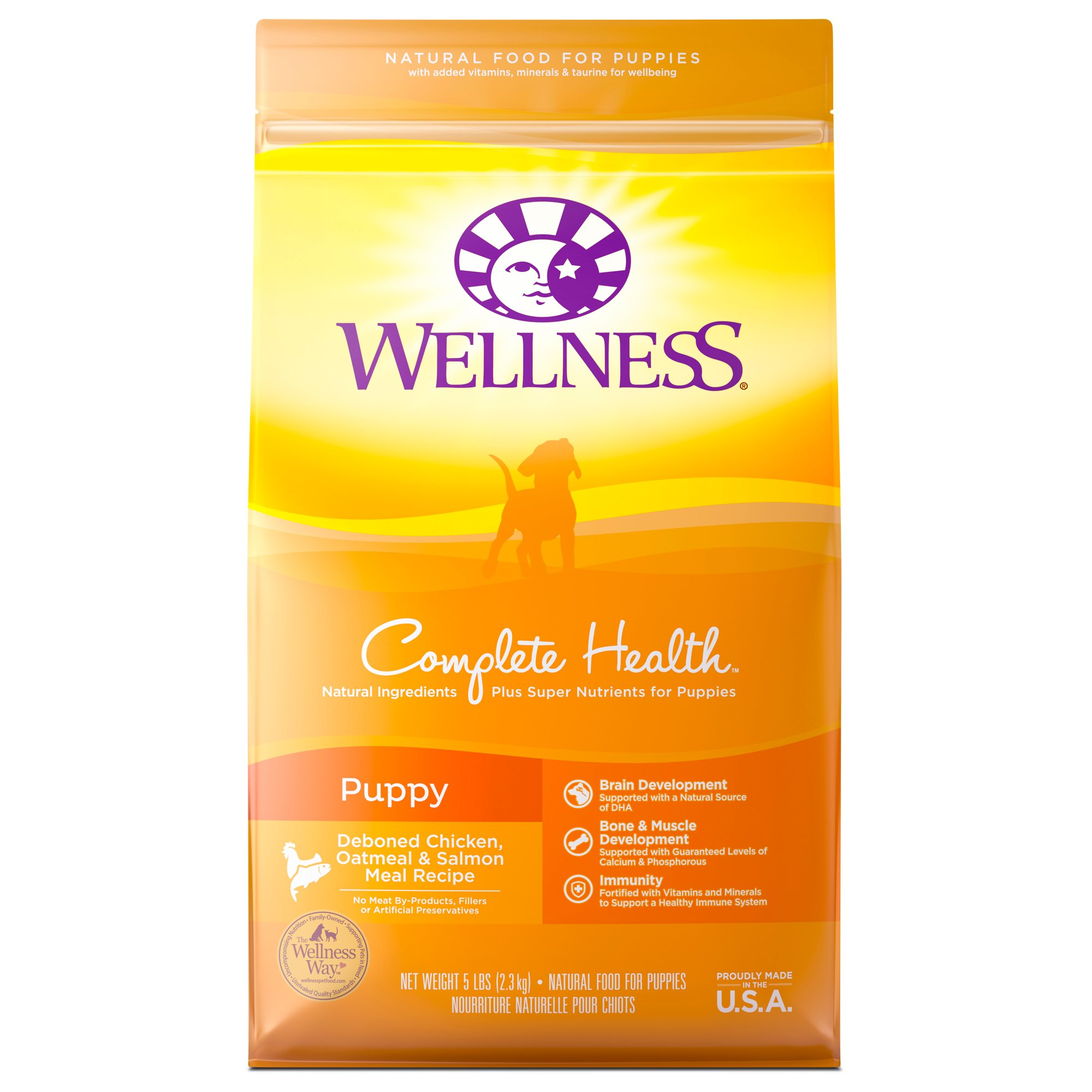 Wellness Complete Health Natural Puppy Recipe Dry Dog Food