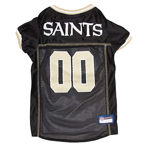 e47a5c676 Pets First New Orleans Saints NFL Mesh Pet Jersey | Petco