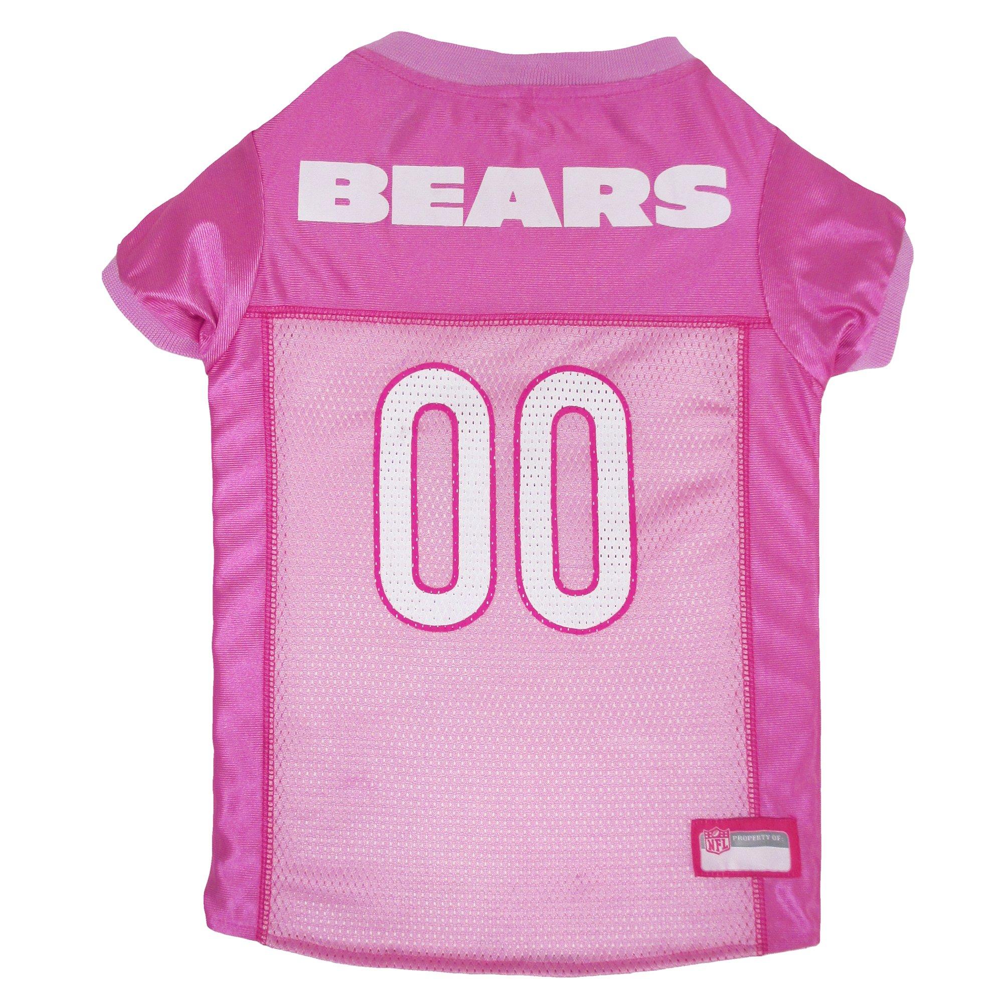 c729b09b382 Pets First Chicago Bears NFL Pink Mesh Jersey   Petco