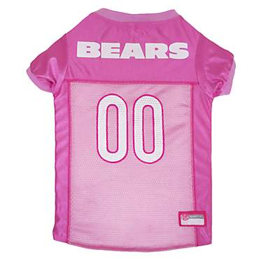 Pets First Chicago Bears NFL Pink Mesh Jersey