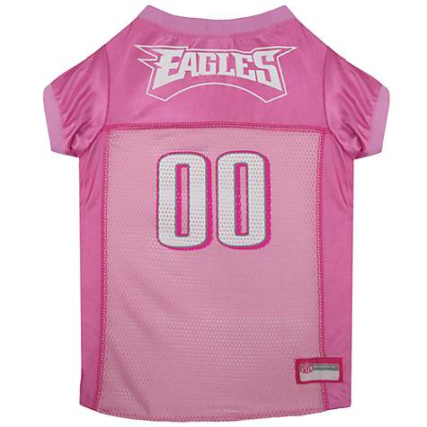 045b8f84 Pets First Philadelphia Eagles NFL Pink Mesh Jersey, X-Small