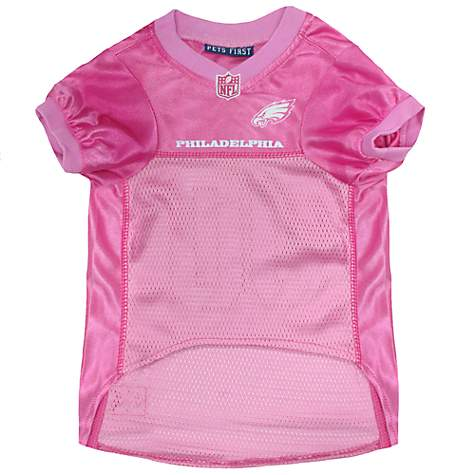 b461b6496a2 Pets First Philadelphia Eagles NFL Pink Mesh Jersey | Petco