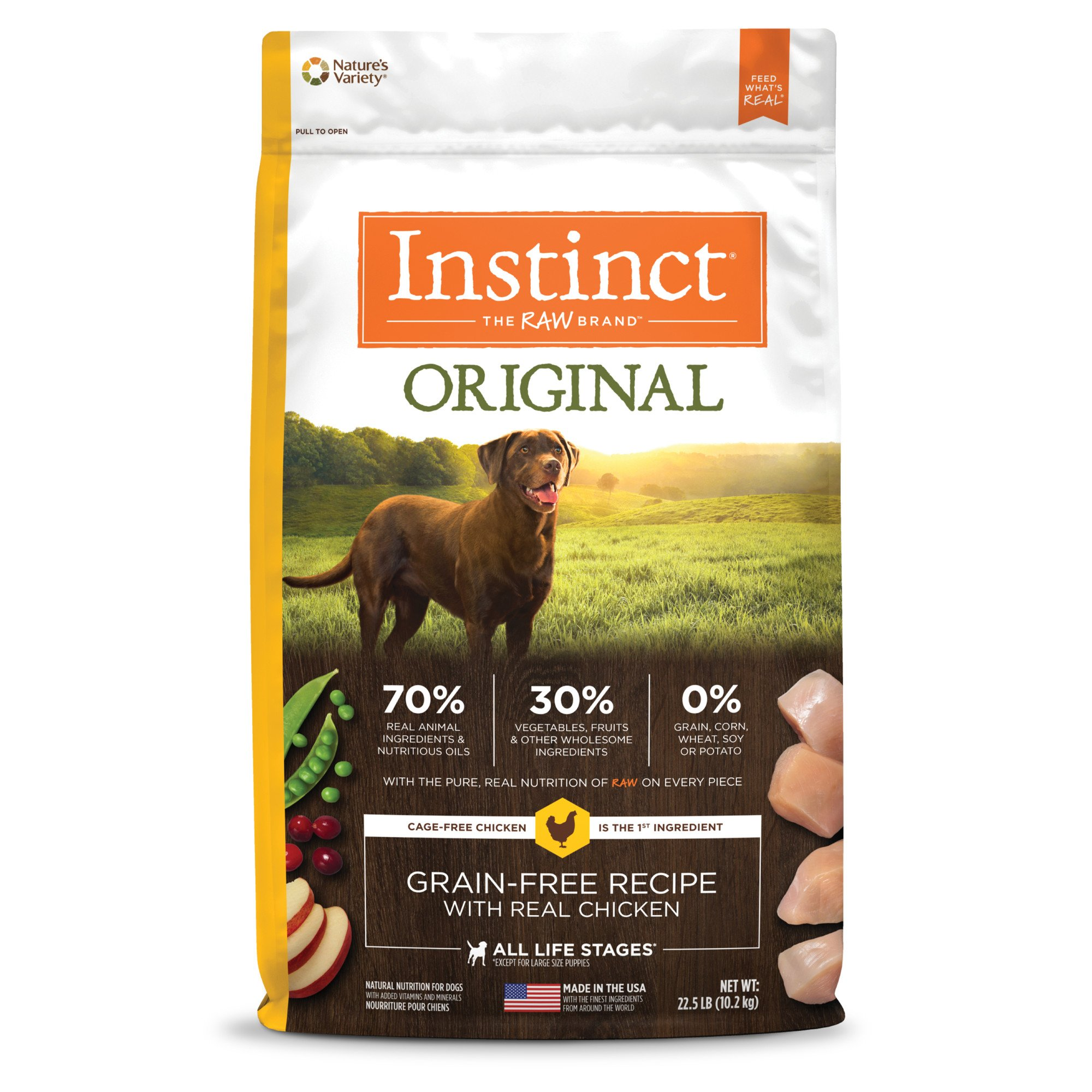 Nature S Variety Instinct Dry Dog Food