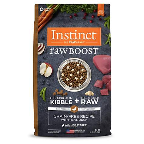 Instinct Raw Boost Grain Free Recipe with Real Duck Natural Dry Dog Food by Nature's Variety