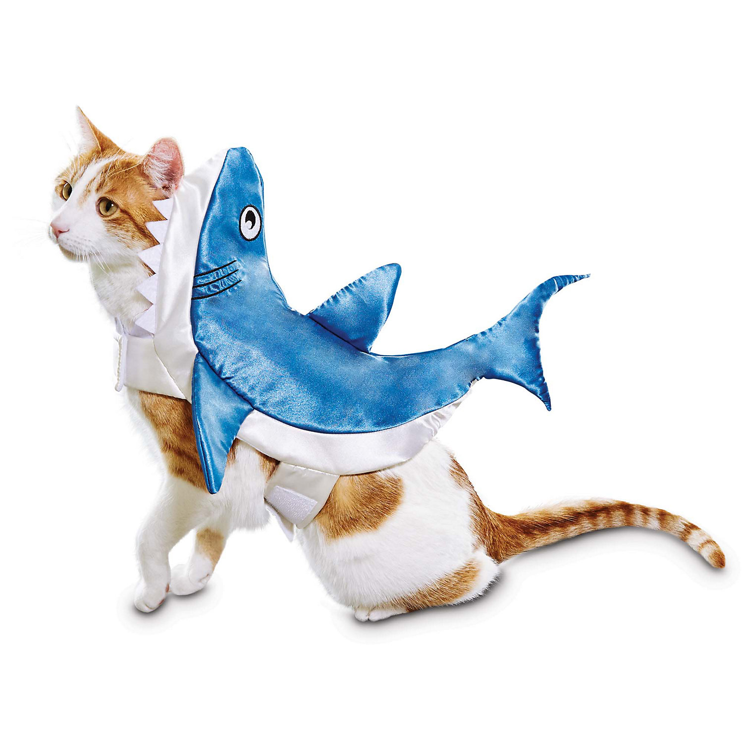 Bootique Shark Pet Costume, Small, Blue
