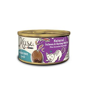 Muse by Purina Natural Salmon & Shrimp Recipe Cat Food