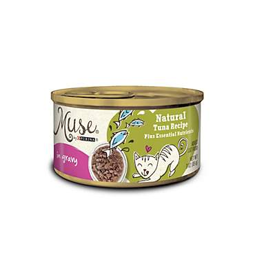 Muse by Purina Natural Tuna Recipe In Gravy Cat Food