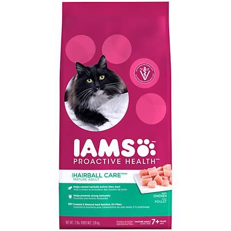 Iams proactive health hairball care mature adult cat food petco iams proactive health hairball care mature adult cat food gumiabroncs Images