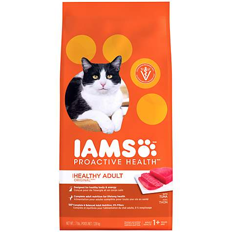 Iams ProActive Health Original with Tuna Adult Cat Food