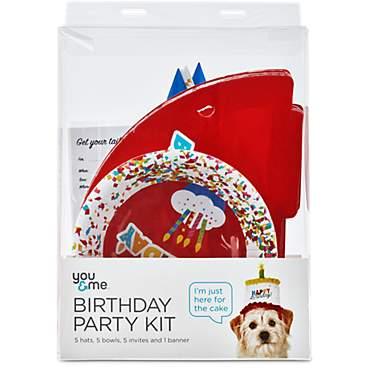 You Me Dog Birthday Party Kit