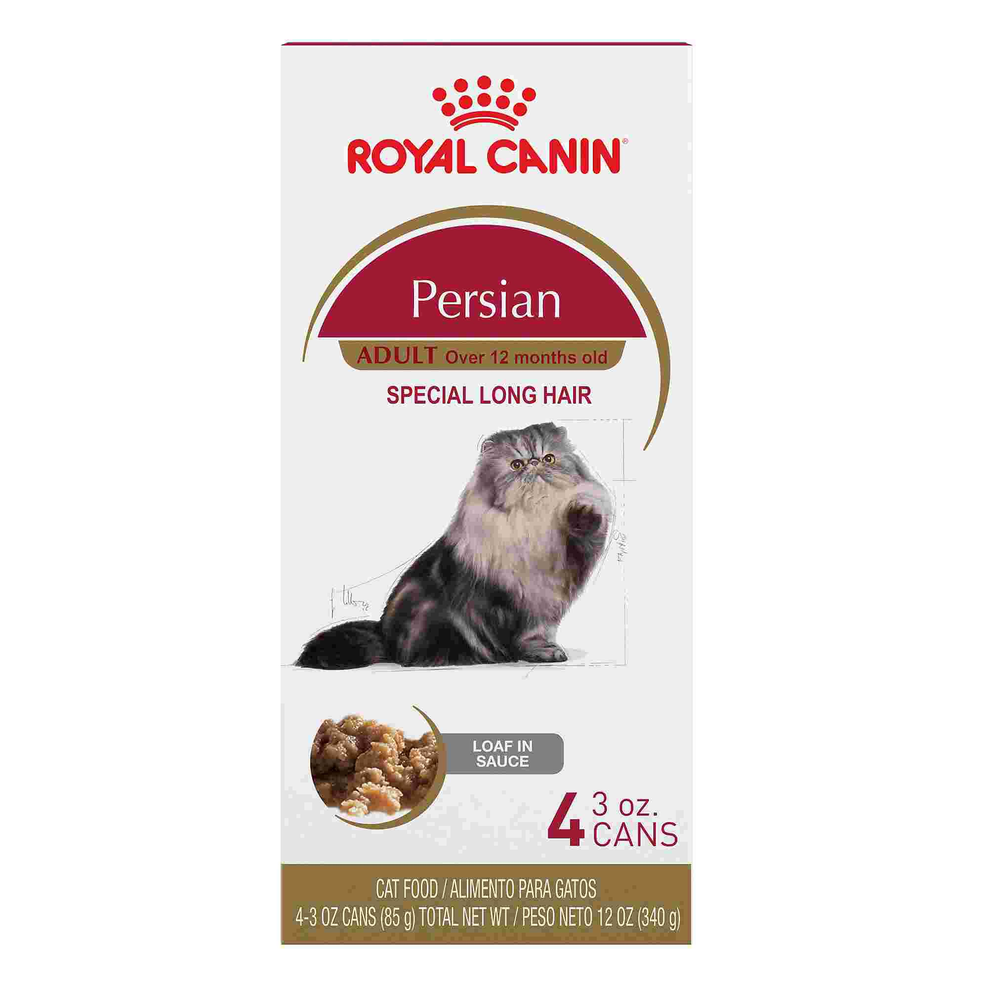 royal canin feline breed nutrition persian loaf in sauce wet cat food petco. Black Bedroom Furniture Sets. Home Design Ideas