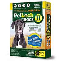 PetLock II Flea Treatment for Dogs over 55 lbs.