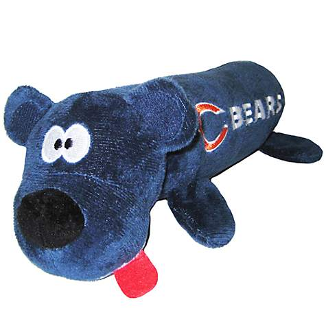 Pets First Chicago Bears Tube Toy For Dogs