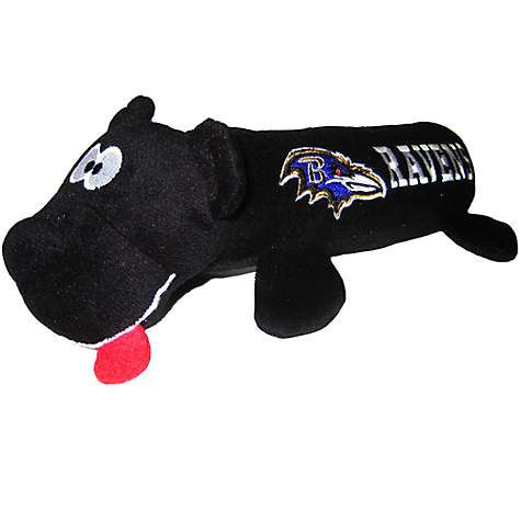 2298877cf Pets First Baltimore Ravens Tube Toy For Dogs