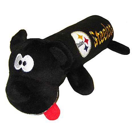 Pets First Pittsburgh Steelers Tube Toy For Dogs