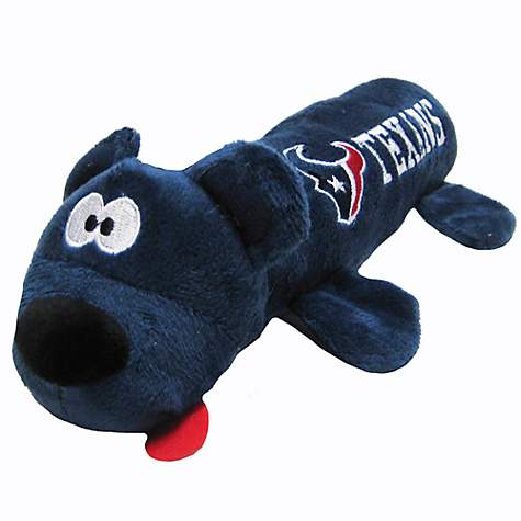 Pets First Houston Texans Tube Toy For Dogs