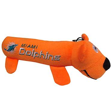 Pets First Miami Dolphins Tube Toy For Dogs