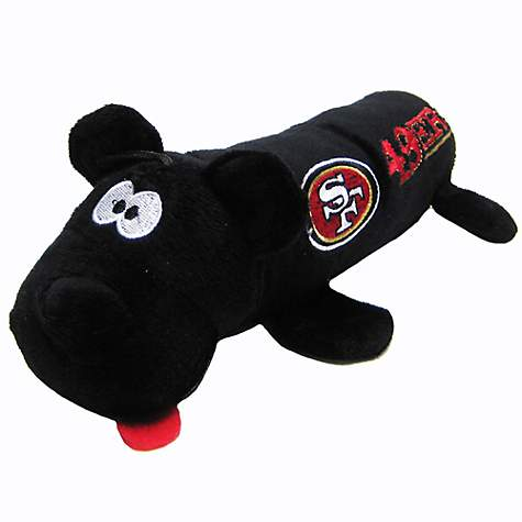 new style 589d0 586f2 Pets First San Francisco 49Ers Tube Toy For Dogs, 11