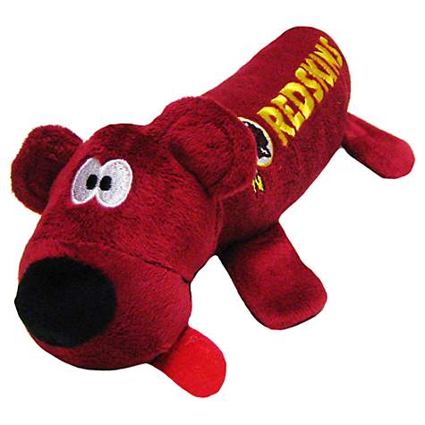 Pets First Washington Redskins Tube Toy For Dogs