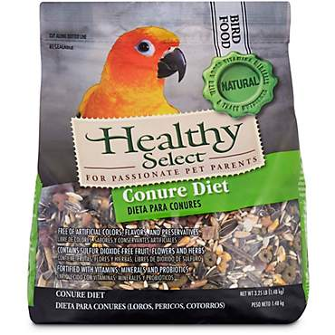 Healthy Select Conure Diet Bird Food