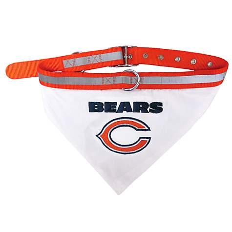 9be7dfb848c Pets First Chicago Bears Collar Bandana | Petco