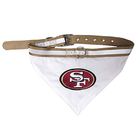 Pets First San Francisco 49ers Collar Bandana