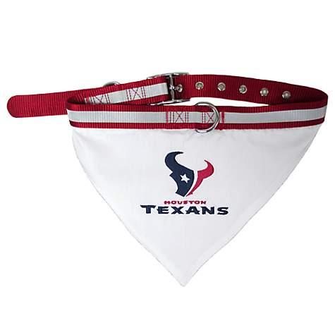 b5b13c0b0 Pets First Houston Texans Collar Bandana