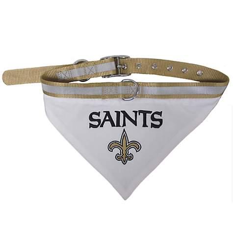 9b73de85d Pets First New Orleans Saints Collar Bandana | Petco