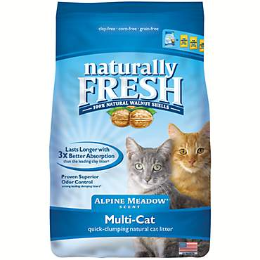 Eco-Shell Naturally Fresh Alpine Meadow Scent Multi-Cat Litter