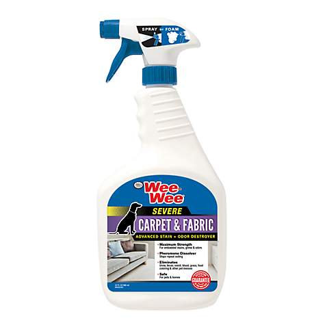 Wee-Wee Carpet & Fabric Cleaner Severe Stain & Odor Remover