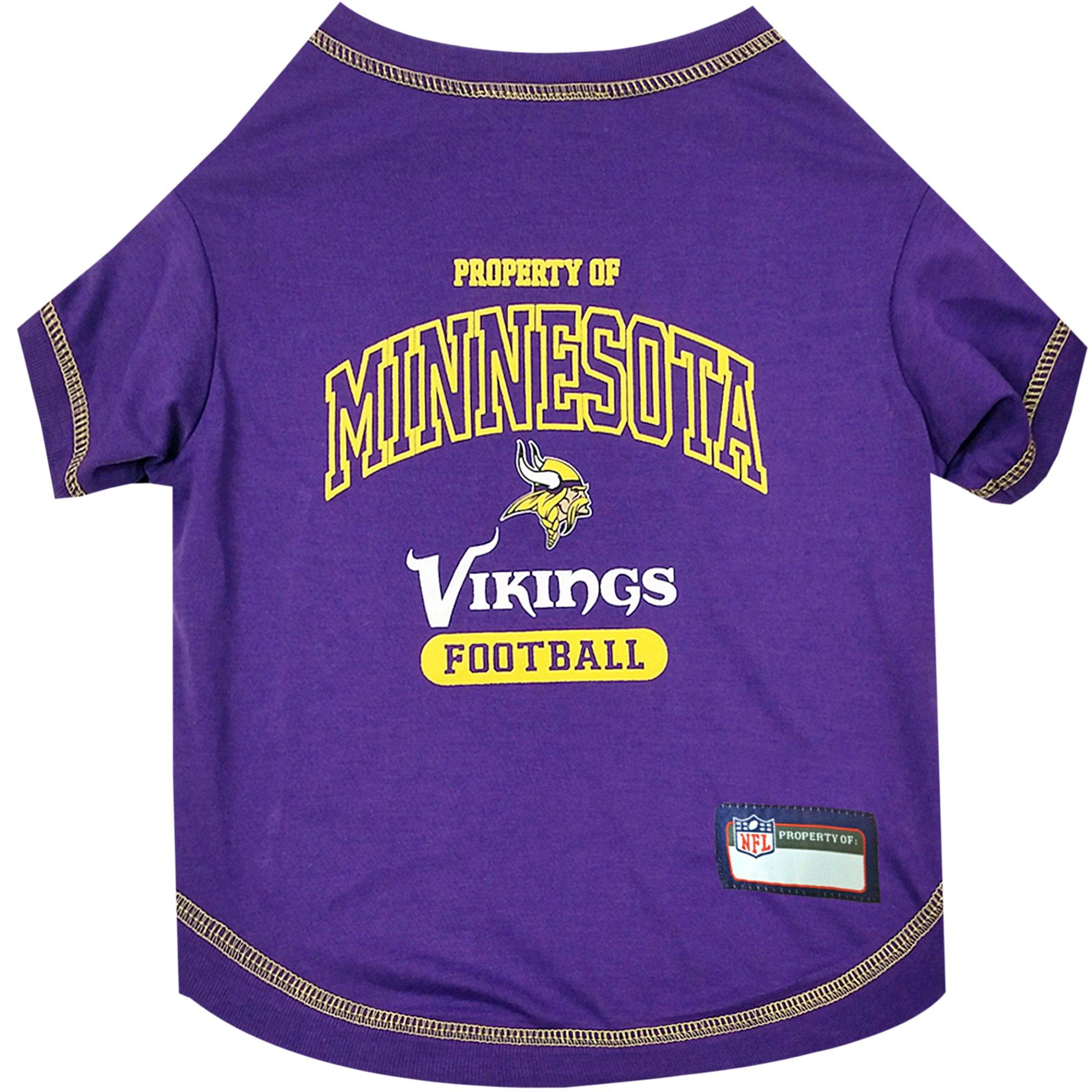 2be83bc2 Pets First Minnesota Vikings T-Shirt | Petco