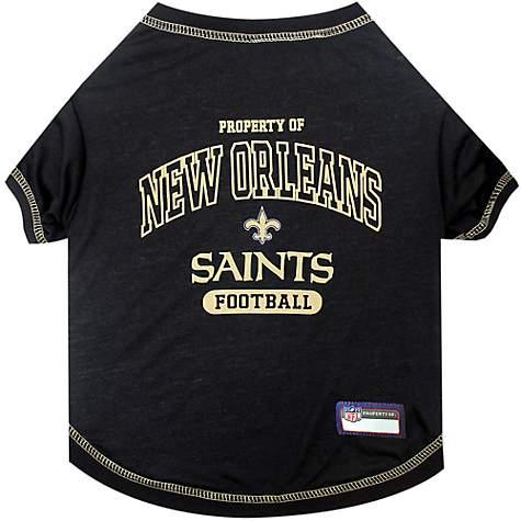 8e7ee0adb Pets First New Orleans Saints T-Shirt, X-Small