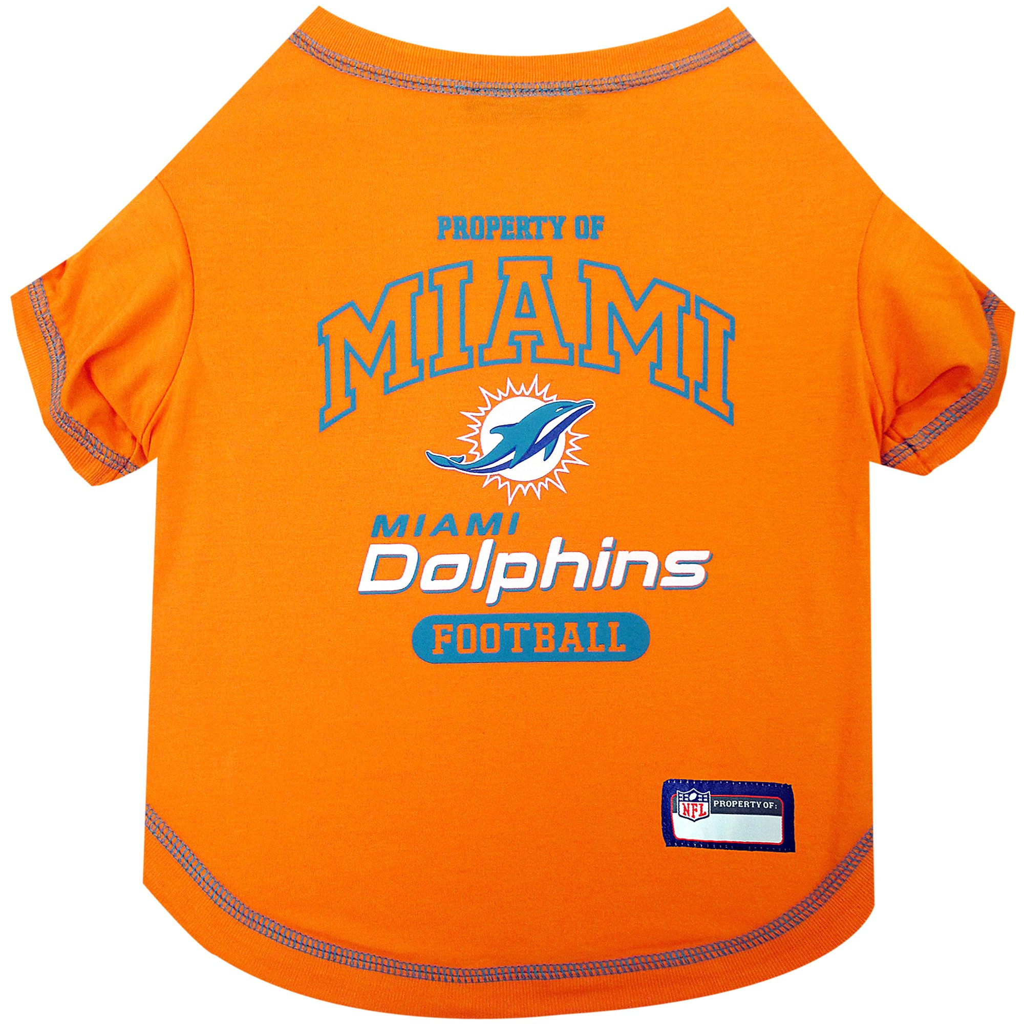 Pets First Miami Dolphins T-Shirt  be6d71374
