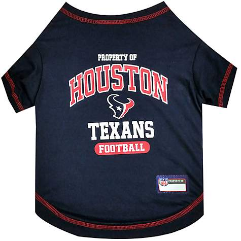 online store dfab7 0c9ea Pets First Houston Texans T-Shirt, X-Small