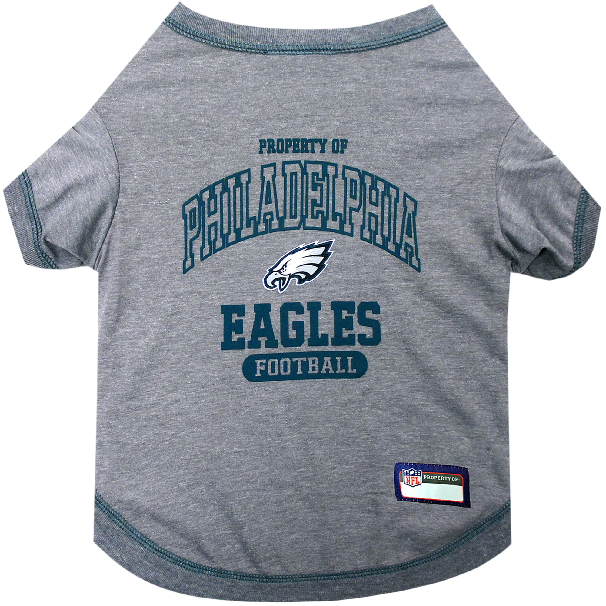 quality design 032cf e25e6 Pets First Philadelphia Eagles T-Shirt, X-Small | Petco