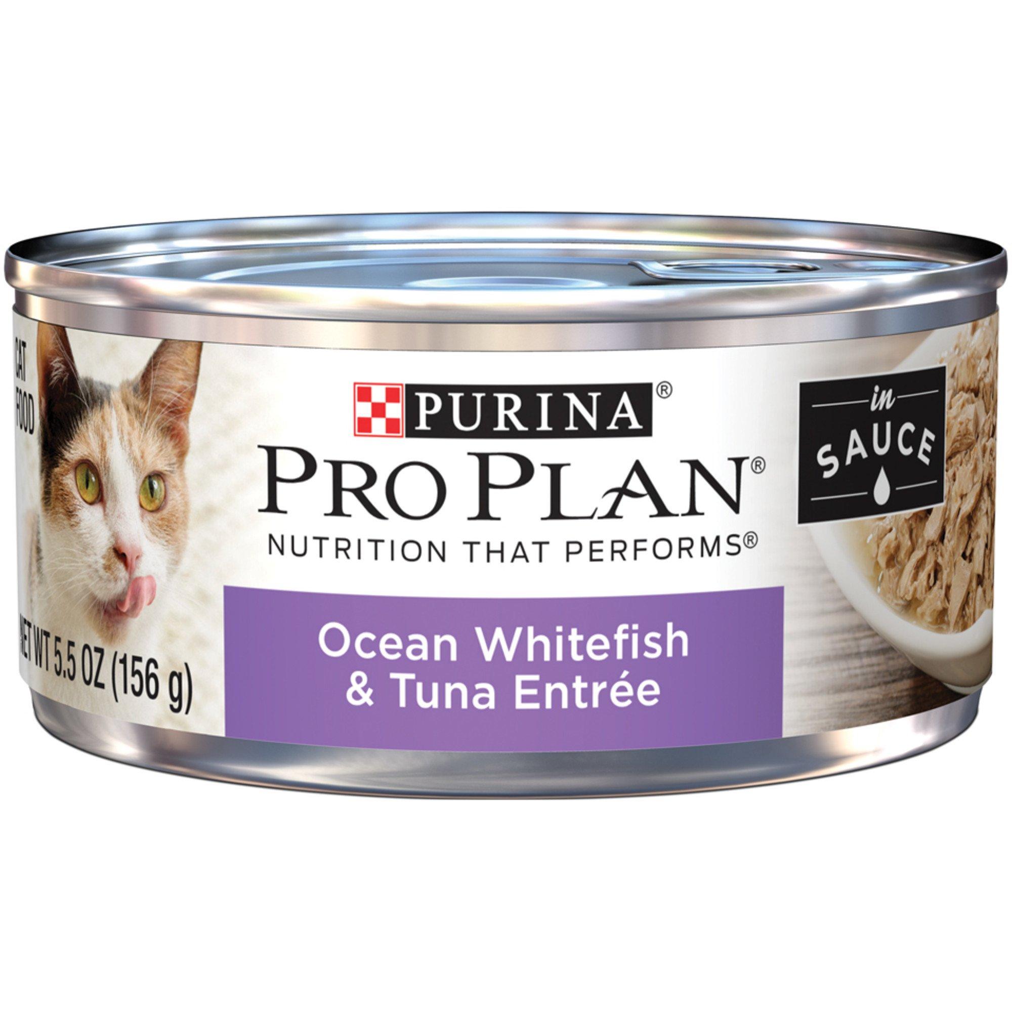 Purina Pro Plan Adult Cat Food Ocean Whitefish Tuna