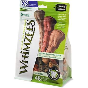 Whimzees X-Small Brushzees Dog Treats
