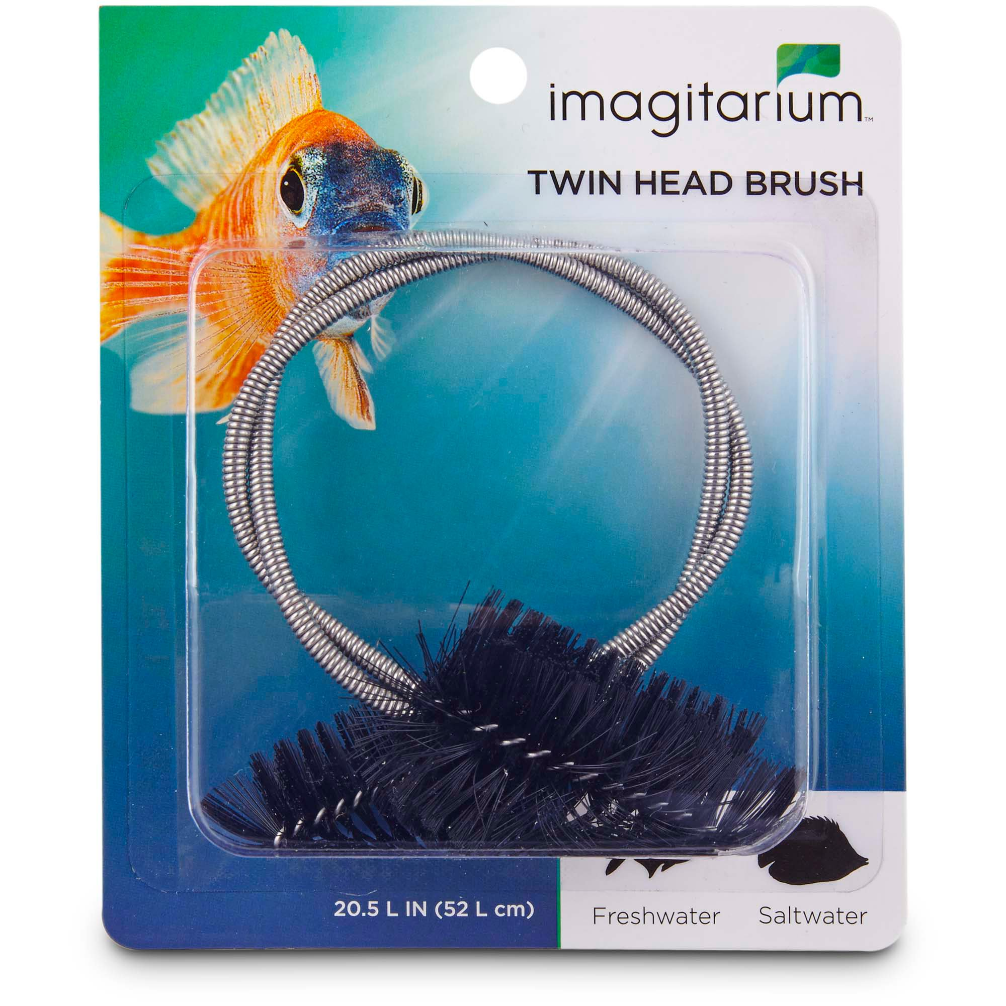 Imagitarium flexible twin head brush petco for Petco fish for sale