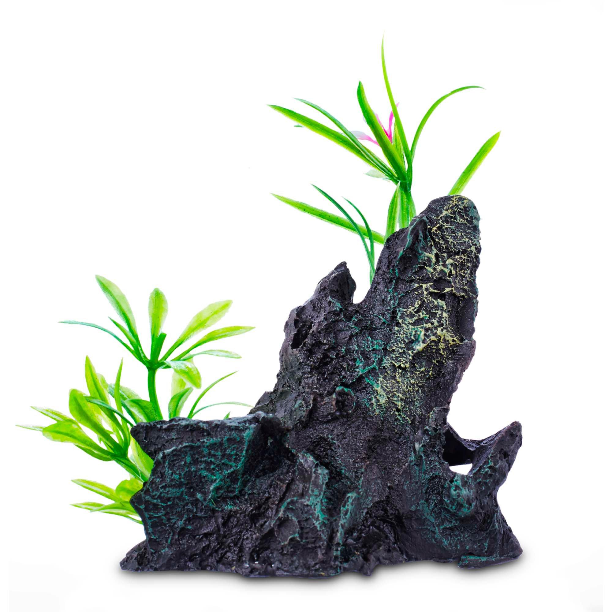 Imagitarium assorted rock garden aquatic decor petco for Petco fish tank decor
