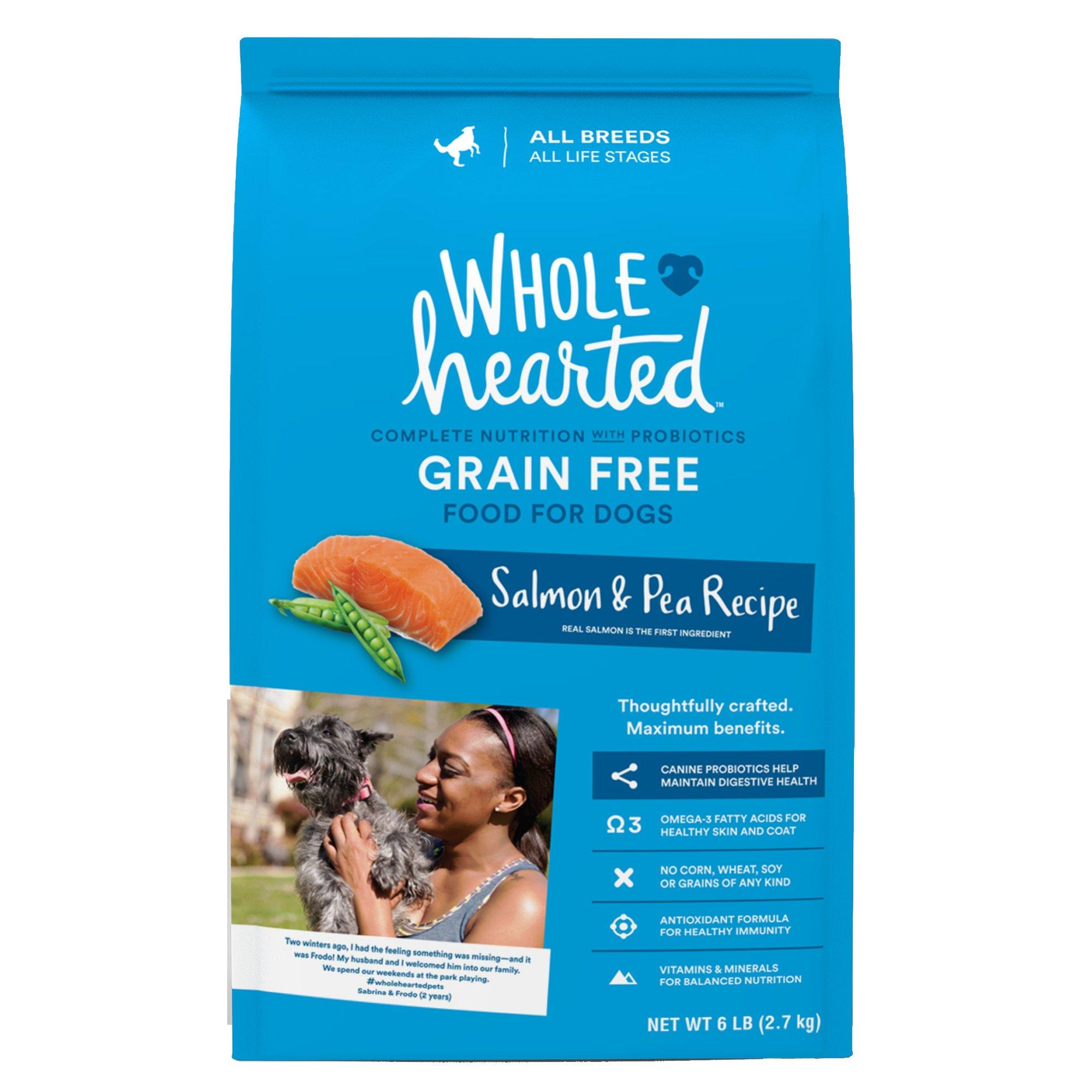 Wholehearted Salmon And Pea Dog Food