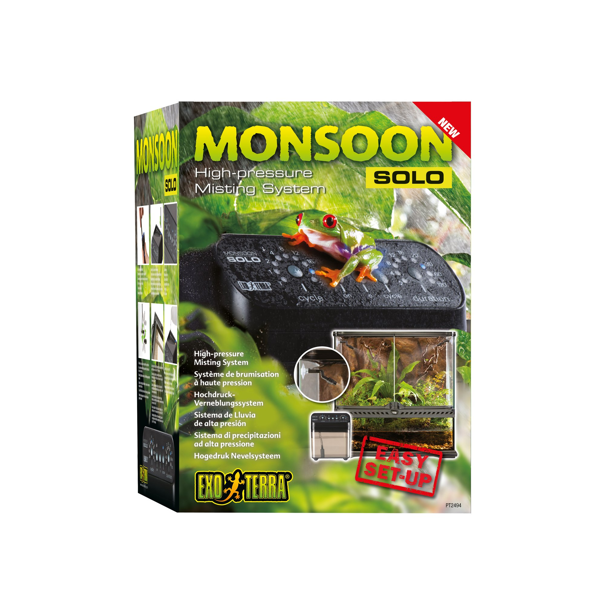 Exo Terra Monsoon Solo High Pressure Misting System Petco