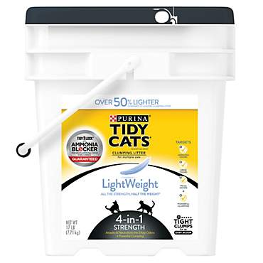 Purina Tidy Cats LightWeight 4-in-1 Strength Clumping Litter for Multiple Cats