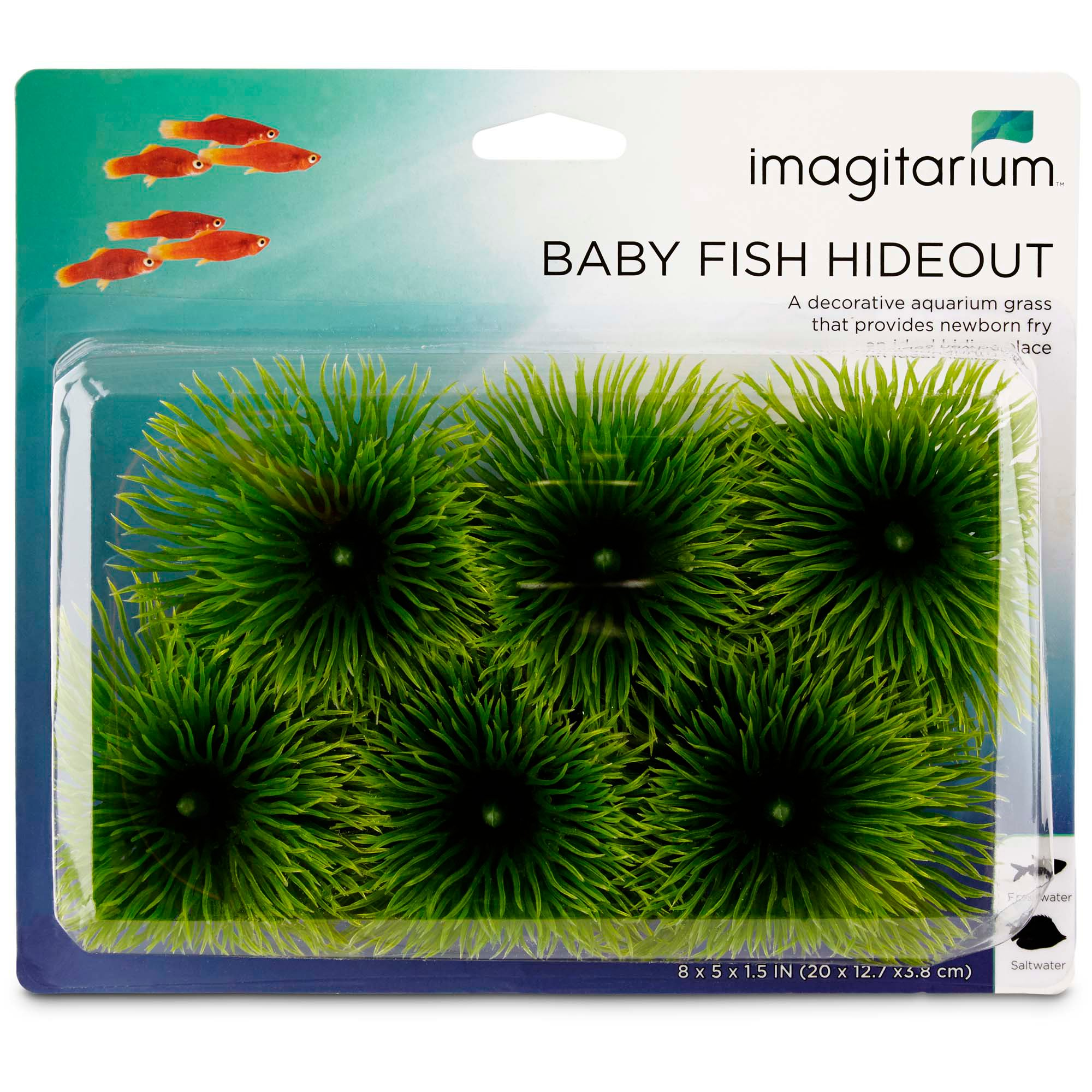 Imagitarium baby fish hideout petco for Petco tropical fish