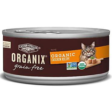 Castor & Pollux Organix Grain Free Organic Chicken Pate Wet Cat Food