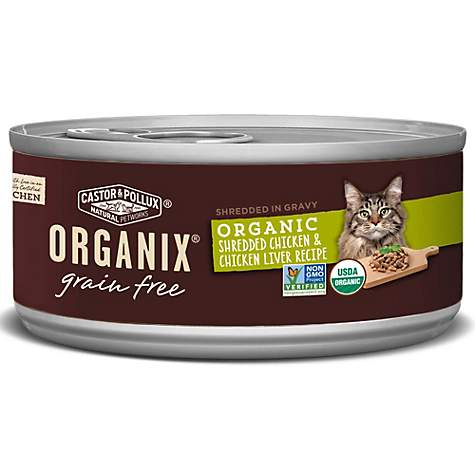 Castor pollux organix grain free organic shredded chicken castor pollux organix grain free organic shredded chicken chicken liver recipe wet cat food forumfinder Image collections
