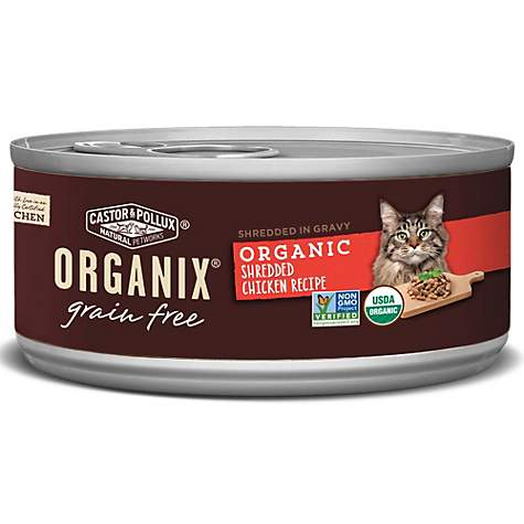 Castor pollux organix grain free organic shredded chicken recipe castor pollux organix grain free organic shredded chicken recipe wet cat food forumfinder Image collections