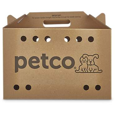 Petco Cardboard Cat Carrier