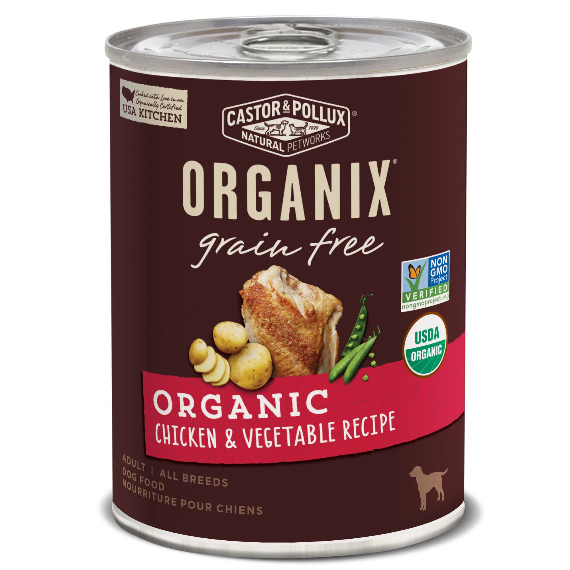 Castor Amp Pollux Organix Grain Free Organic Chicken